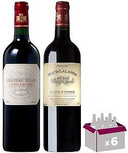 Experiência de Bordeaux  -  6 garrafas
