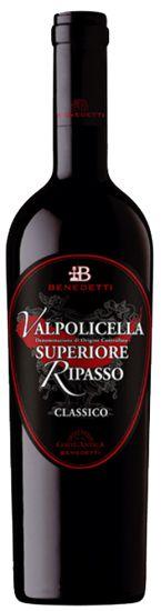 Valpolicella Superiore Ripasso D.O.C. Cantine Benedetti 2016