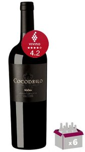 Caixa C/ 06 garrafas - Cobos Cocodrilo Malbec 2019