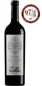 Gran Enemigo Single Vineyard El Cepillo 2016   RP - 97 Pts.