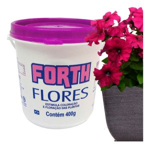 Fertilizante Forth Flores Coloração E Floração 400g