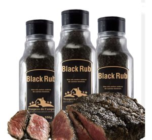 Black Rub 350g Ideal P Cortes Nobres De Carne Bovina