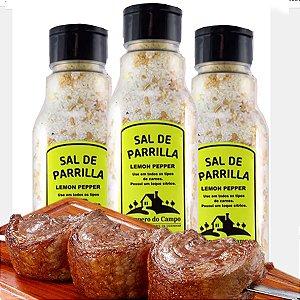 Sal De Parrilla Lemon Pepper Limão Com Pimenta Especial