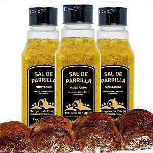 Sal De Parrilla Mostarda Use Em Todos Tipos De Churrasco