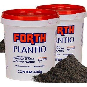 Fertilizante Forth Plantio 400g Adubo Jardin E Gramado