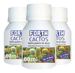 Fertilizante Adubo Forth Cactos - 60 Ml - Rende 12 Litros