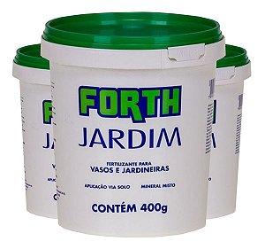 Adubo Fertilizante Forth Jardim 400gr