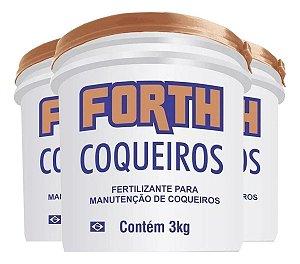 Fertilizante Forth Coqueiros Coloração E Floração 3kg