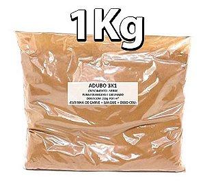 Substrato Fertilizante 3 Em 1 Crescimento Verde 1kg