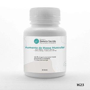 Cápsulas para Ganho de Massa Muscular - 60 doses