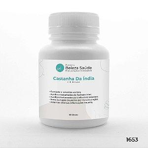 Castanha India + 3 Ativos - Circulação e Varizes na Perna - 60 doses