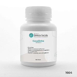 Cavalinha + Hibisco - Inchaço e Retenção de Líquidos - 180 doses