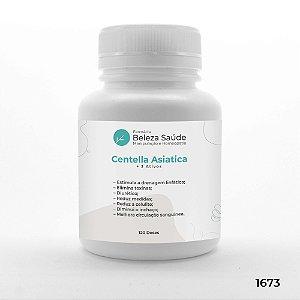 Centella Asiatica + 3 Ativos - Efeito Drenagem Linfática - 120 doses