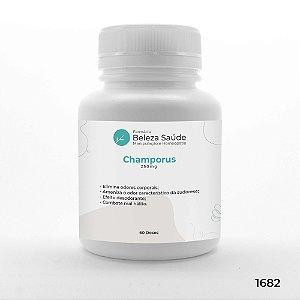 Champorus 250mg : Combate aos Maus Odores Corporais - 60 doses