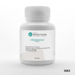 Champorus 250mg : Combate aos Maus Odores Corporais - 90 doses