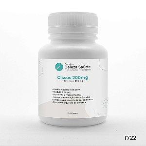 Cissus 200mg + Irvingia 200mg - Manutenção do Peso - 120 doses