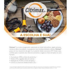 Citrimax + Espirulina - Inibidor de Apetite e Detox - 60 doses
