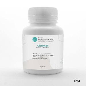 Citrimax + Saffrin + Zembrin - Auxilia o Controle do Apetite - 90 doses