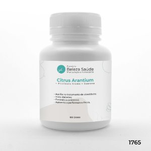 Citrus Arantium + Picolinato Cromo + Guaraná - 100 doses