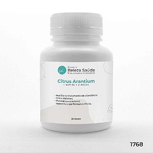 Citrus Aurantinum + Saffrin + 2 Ativos - Modulação do Peso - 60 doses
