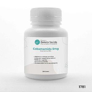Cobamamida 5mg Coenzima B12 - Combate a Anemia - 200 doses