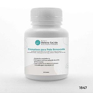 Complexo Para pele Renovada e Protetor Solar - 30 doses