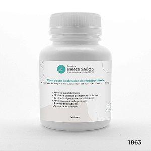 Composto Acelerador do Metabolismo e Aumento da Saciedade - 90 doses
