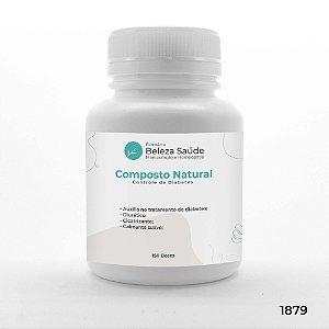 Composto Natural Auxiliar Controle da Diabetes - 150 doses