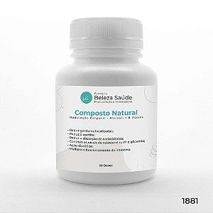 Composto Natural Modulação Corporal - Morosil + 8 Ativos - 60 doses