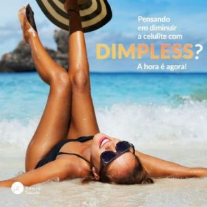 Dimpless 40mg + Vitamina C 300mg - Trata Celulite - 90 doses