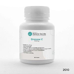 Drenow C 500mg  - Drenagem em Cápsulas Uso Diário Anti Celulite - 180 doses