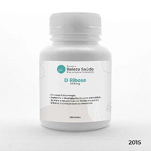 D Ribose 500mg Força Muscular - 200 doses