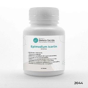 Epimedium Icariin 500mg Aumento do Desempenho - 45 doses