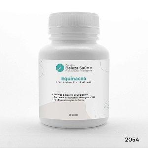 Equinacea + Vitamina C +  5 Ativos - Aumento da Imunidade - 30 doses