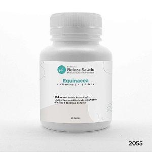 Equinacea + Vitamina C +  5 Ativos - Aumento da Imunidade - 60 doses