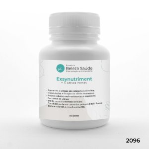 Exsynutriment + 4 Ativos Fortes - Fortalece Cabelos e Unhas - 60 doses