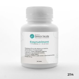 Exsynutriment + Vitamina C + 3 Ativos - Anti Idade Forte - 30 doses