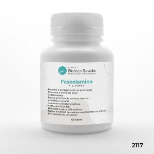 Faseolamina + 2 Ativos - Acelera o Metabolismo - 120 doses
