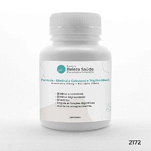 Fórmula Diminuir o Colesterol e Triglicerídeos - 240 doses