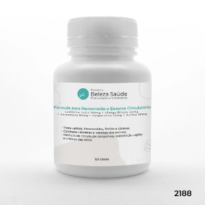 Fórmula Forte para Hemorroida e Sistema Circulatório - 150 doses