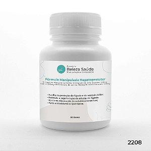 Fórmula Manipulada Hepatoprotetor Figado Vesícula - 60 doses