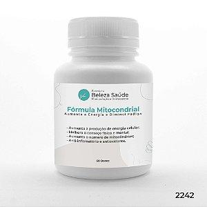 Fórmula Mitocondrial - Aumenta a  Energia e Diminui Fadiga - 60 doses