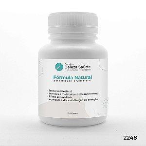 Fórmula Natural para Reduzir o Colesterol - 120 doses
