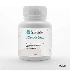 Fórmula Oral para Tratamento da Acne - 90 doses