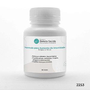 Fórmula para Aumento da Imunidade : Gripes e Vírus - 180 doses