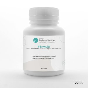 Fórmula para Aumento do Desempenho Homem - 120 doses