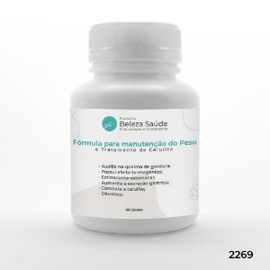 Fórmula para manutenção do Peso e Tratamento de Celulite - 90 doses