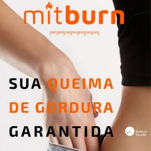 Mitburn 50mg : Emagrecedor de Resultado  - 30 doses