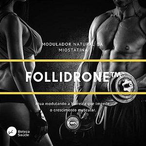 Follidrone 5g : Modulador Natural da Miostatina - Crescimento Muscular - 75 doses