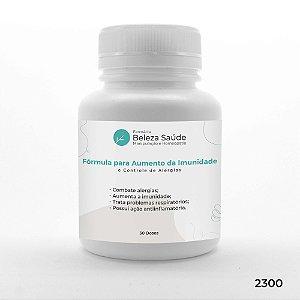 Fórmula para Aumento da Imunidade e Controle de Alergias - 30 doses